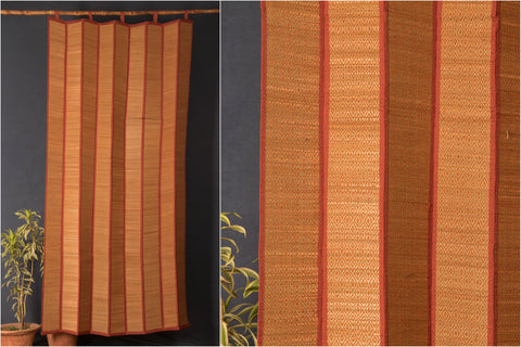 Madur Grass Mat Curtain of Midnapur (4fx7f)