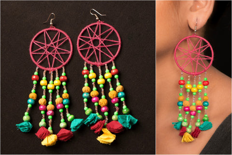 Special Dream Catcher Earring by Jugaad