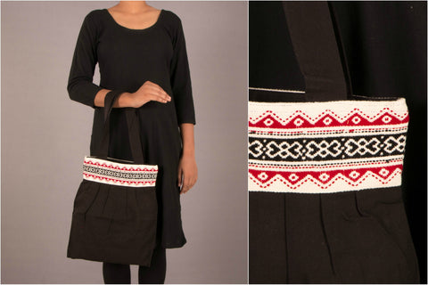 Tribal Toda Hand Embroidery Tote Bag