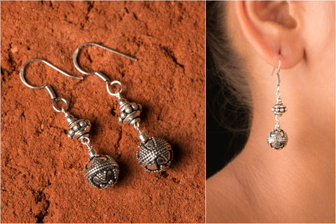 Phulia Bunda Sterling Silver Earrings