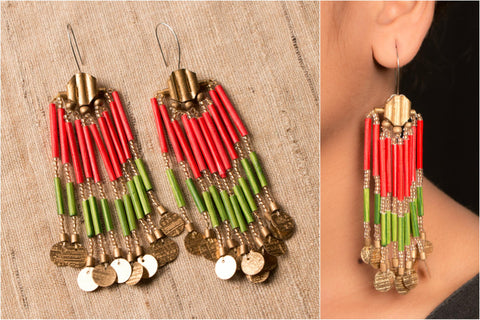 Long Rajasthan Earring by Vrinda