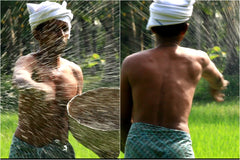 A Farmer From Kuttanad - by Santosh Sivan
