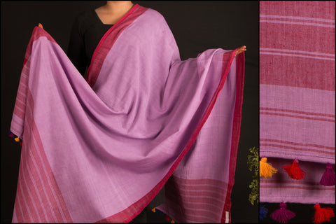 Handwoven Assam Cotton Dupatta