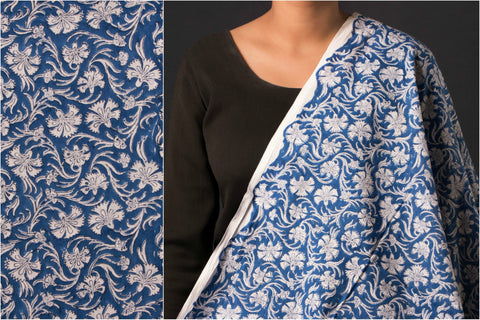 Sanganeri Hand Block Print Cotton Fabric