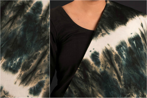 Tie - Dye Printed Modal Silk Fabric