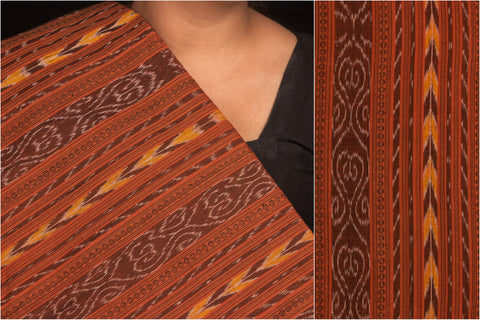 Sambalpuri Ikat Dubi Fine Cotton Fabric