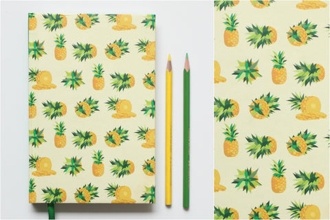 Pineapple Meghalaya Notebook (small)
