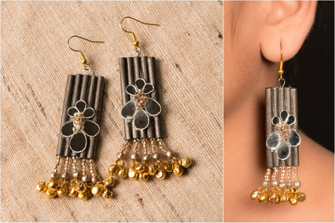 Long Ghungroo Earring by Vrinda