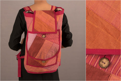 Upcycled Fauji Bag by Jugaad