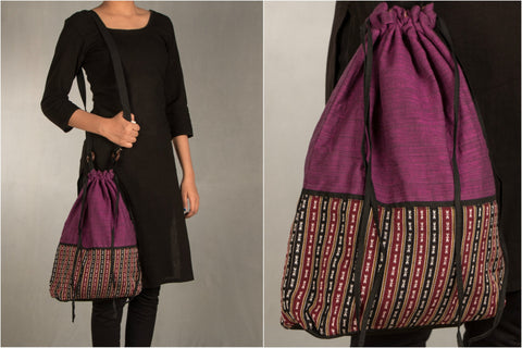 Handwoven Assam Sling bag by Manjuri