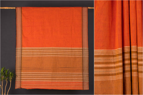 Begumpuri Dobby Naksha Handloom Cotton Saree