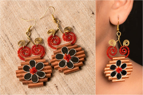 Egyptian pc Medium Earring by Vrinda