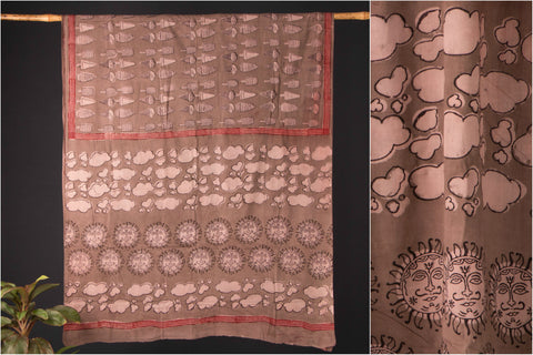 Bindaas Print Natural Dyed Cotton Saree
