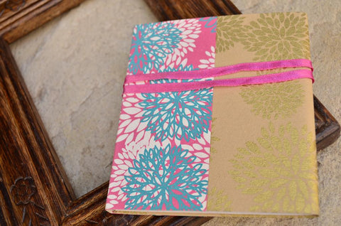 Ribbon Wrap Notebook Small