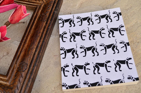 Animal Print Notebook Medium