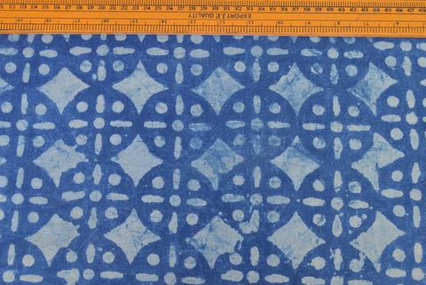 Bindaas Print Precut Cotton Fabric - 2.5 Meter