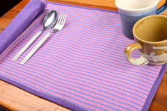Aha Vastra! Dining Mats with Napkins Set (14 pc set)