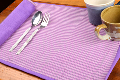 Dining Mats With Napkins Set (14 Pc Set)