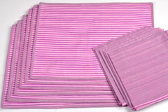Aha Vastra! Dining Mats with Napkins Set (12 pc set)