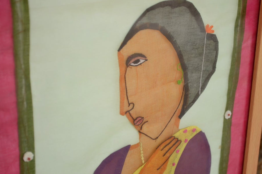 Appliqué (Phool Patti Ka Kaam) Work Art By theartofsu