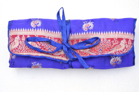 Bocade Jewellery Pouch with Wrap Around Dori