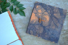 Batk Print Hand Bound Handcut handmade Paper Journal