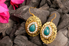 Jalpari Carbon Gold Earring