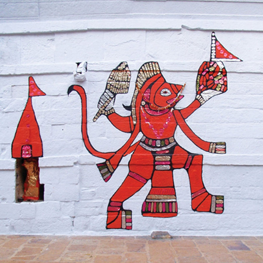 Hanuman on the walls of jaisalmer Gift tag (set of 10)