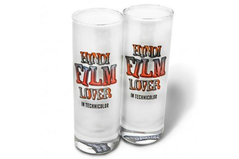 Hindi Filmy Shot Glass - Set of 2