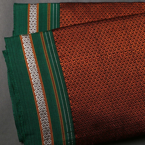 Handloom Cotton Khun Fabric (width - 35.5 inches)
