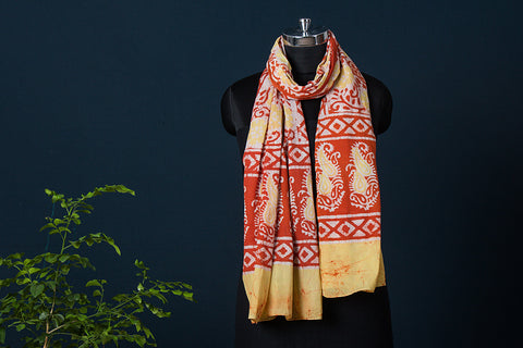 Batik Block Print Soft Cotton Stole