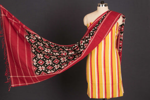 Pochampally Ikat Cotton 2pc Dress Material Set
