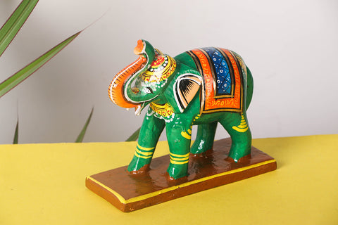 Handpainted Wooden - Pathari Hathi
