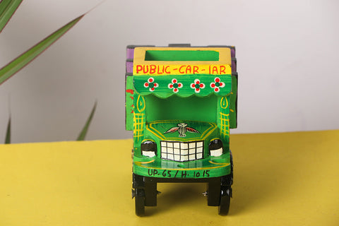 Handpainted Wooden - Truck