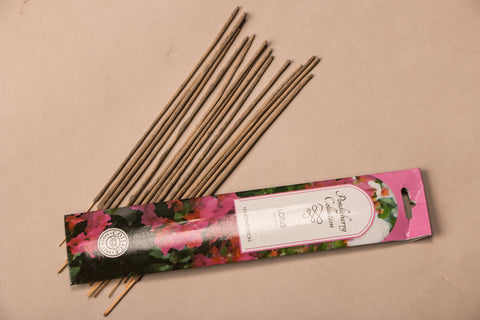 Sri Aurobindo Ashram - Pondicherry Collection Lotus Incense Sticks