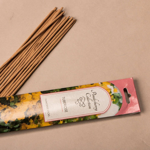 Sri Aurobindo Ashram - Pondicherry Collection Tuberose Incense Sticks