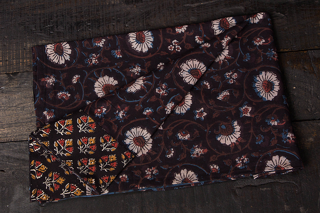 Rangoli Cotton Blouse Material by Jalpari