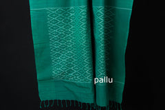 Pochampally Handloom Double Ikat Cotton Saree by Abhihaara