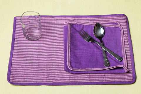 Aha Vastra! Dining Mats with Napkins (Set of 14)