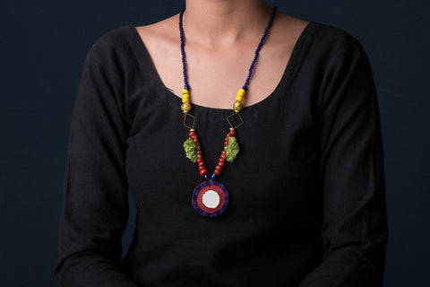 Handcrafted Kutchhi Necklace by Nidhi Lodha