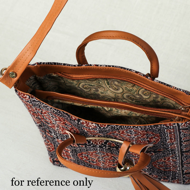 Handcrafted Kantha Hand Embroidered Cotton Sling Bag