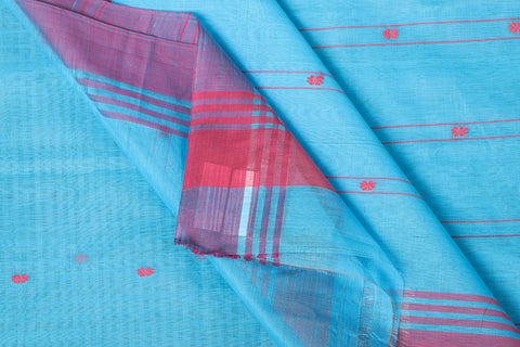 Traditional Chanderi Handloom Mercerized Cotton Saree by Rauph Khan