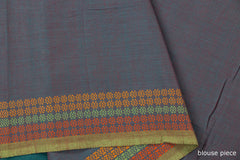 Special Bodoweaves Border Cotton Saree with Blouse