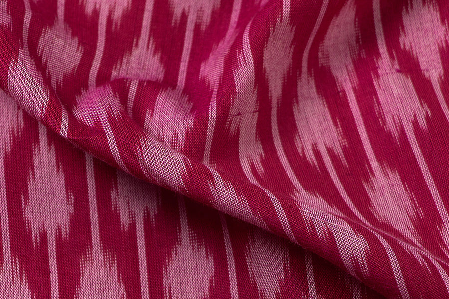 Pochampally Ikat Handloom Cotton Fabric