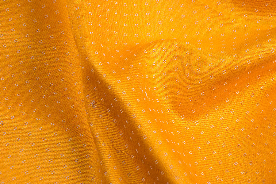 Handwoven Mashru Silk Cotton Unstitched Fabric (width - 22 inches)