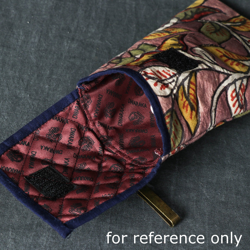 Handpainted Kalamkari Natural Dyed Cotton Mobile Pouch