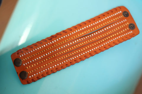 Leather Bangle Belt