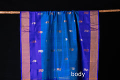 Uppada Pattu Handloom Pure Silk Buta Saree