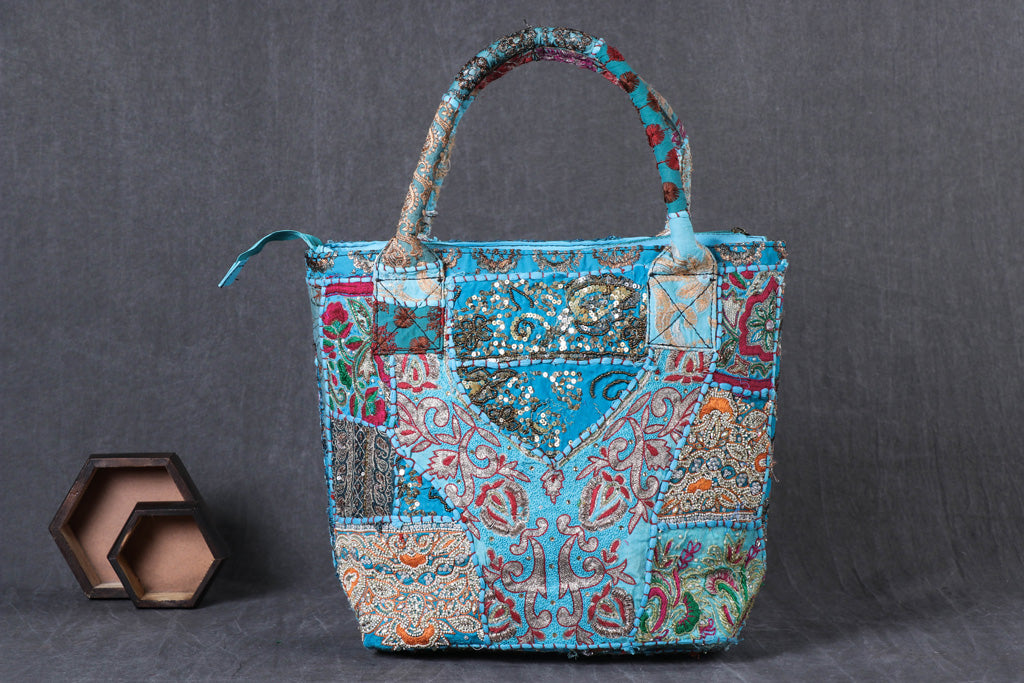 Banjara Moti Work Embroidery Shoulder Bag