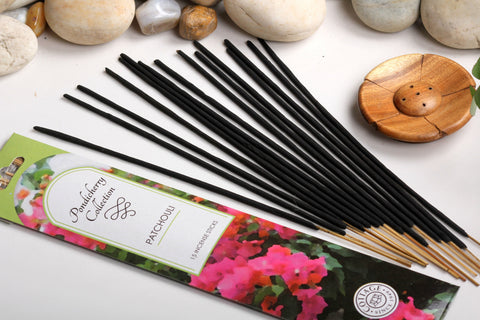 Sri Aurobindo Ashram - Pondicherry Collection Patchouli Incense Sticks
